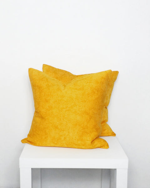 Yellow Mix Cushion Cover - Stylemypad