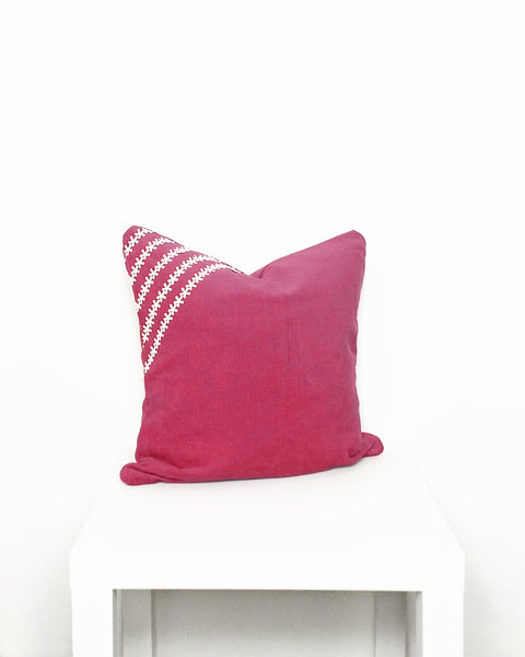 Pink Corduroy Cushion Cover - Stylemypad