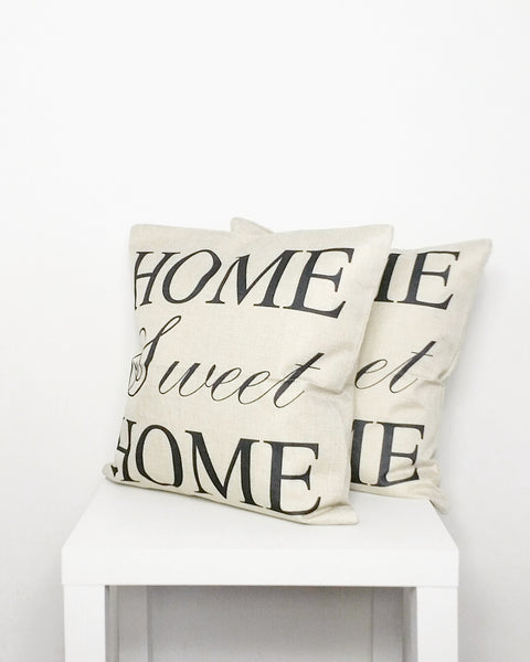 Home Sweet Home Cushion Cover - Stylemypad