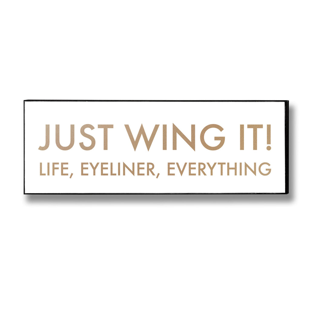 Just Wing It - Style My Pad
