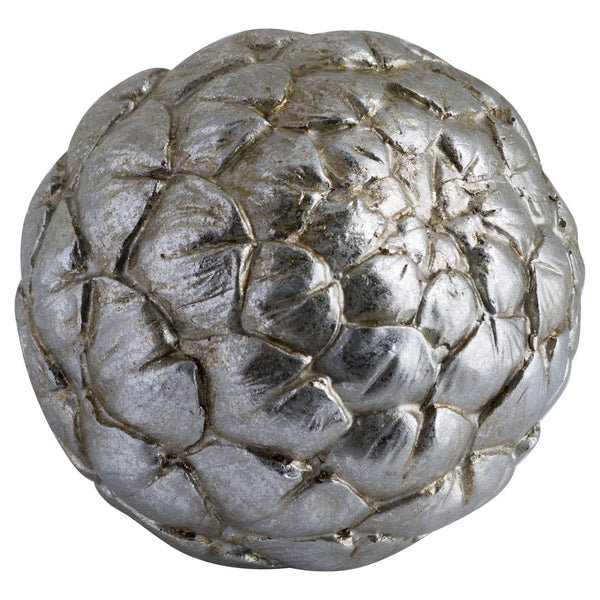 Large Silver Artichoke Decoration - Style My Pad - Zoom