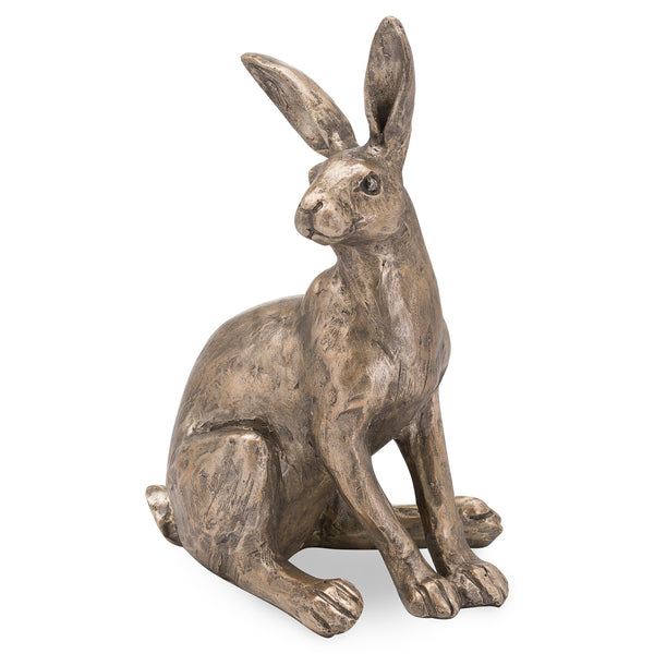 Sitting Bronze Hare Ornament - Style My Pad