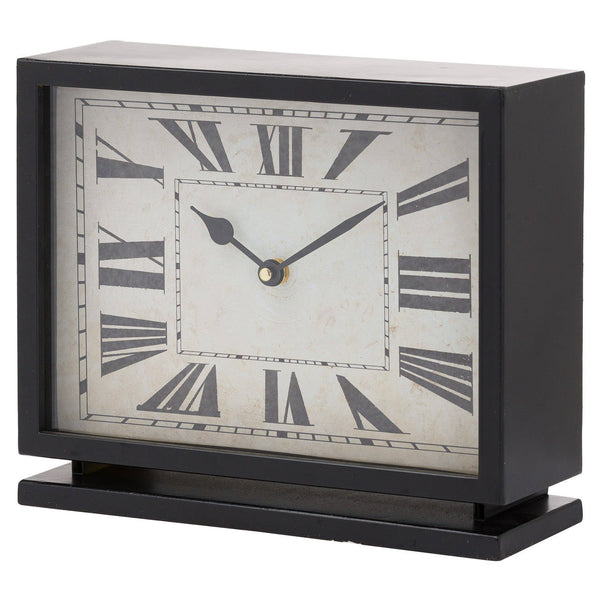 Black and Gold Mantel Clock - Style My Pad