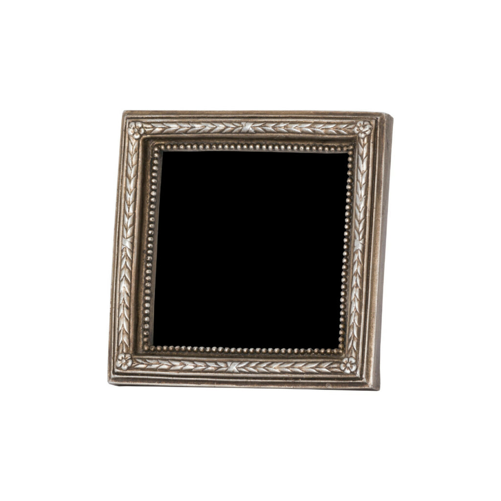 Square Antique Silver Platted Design Photo Frame - Style My Pad