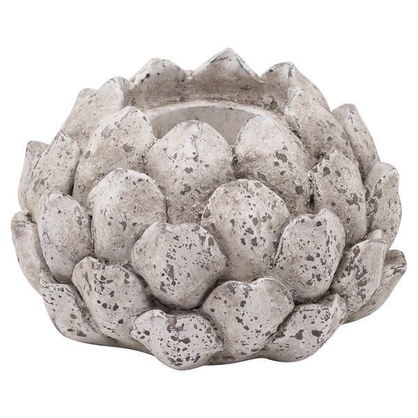 Stone Effect Acorn Tea Light Holder