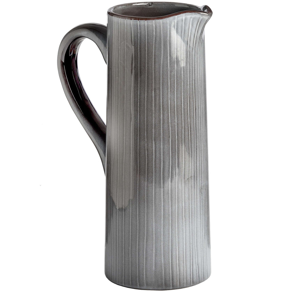 Tall Grey Ceramic Display Jug - Style My Pad