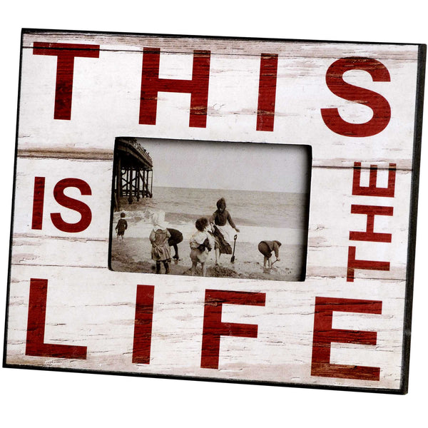 This is The Life Picture Frame - Stylemypad
