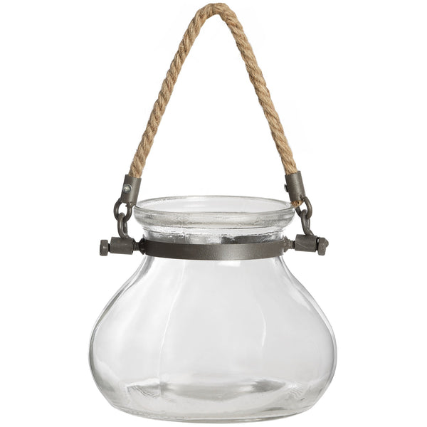 Glass Jar Candle Holder - Stylemypad