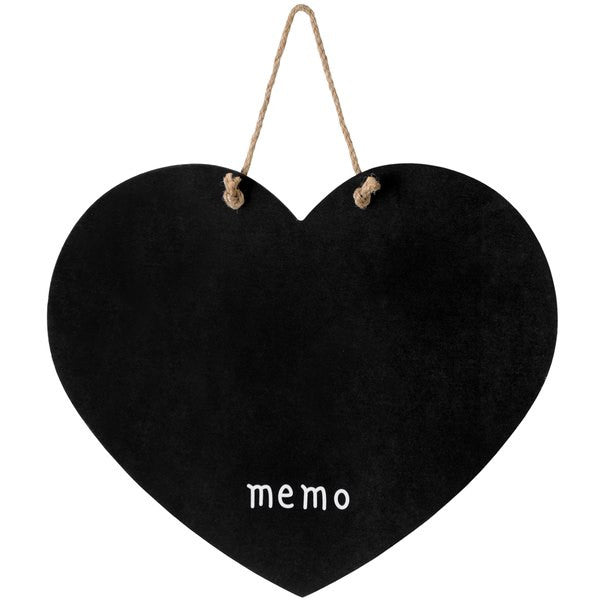 Hanging Heart Chalk Board - Stylemypad