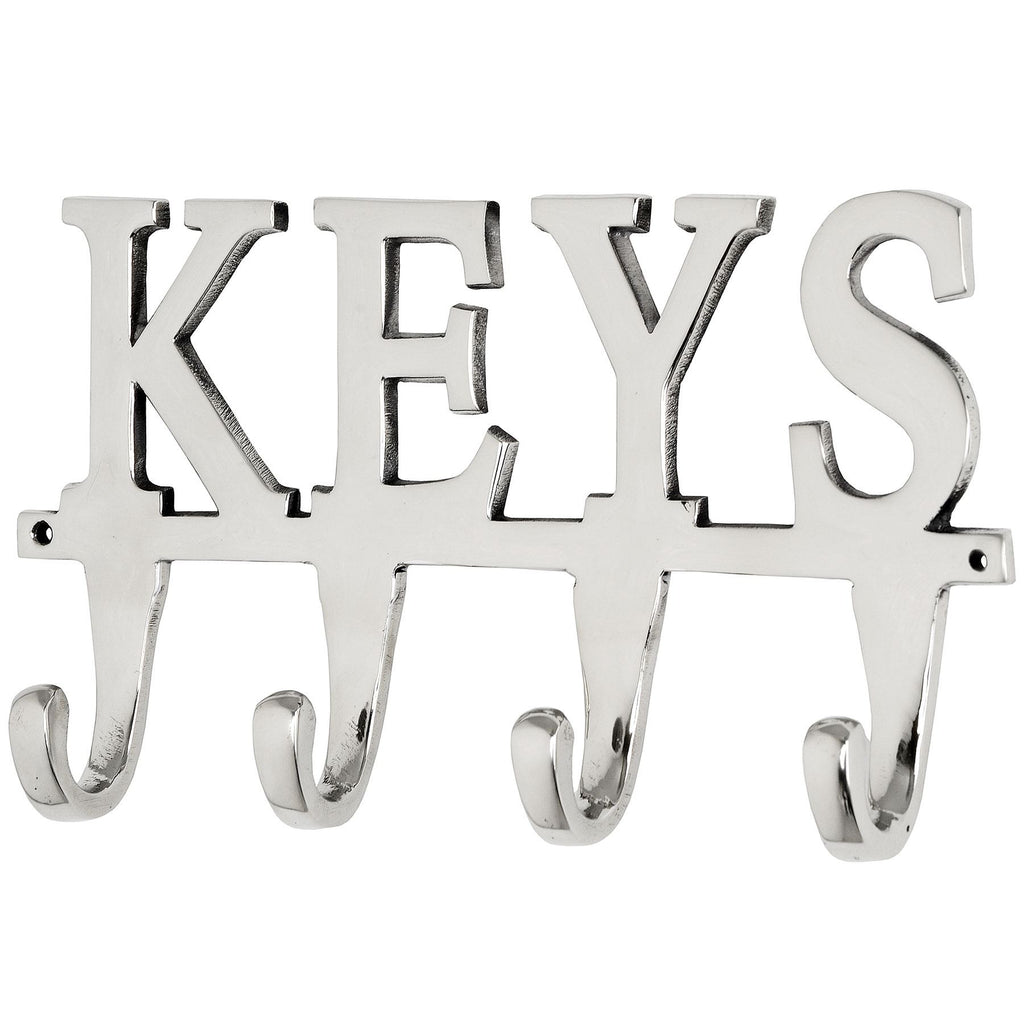 Large Nickel Keys Hook - Stylemypad