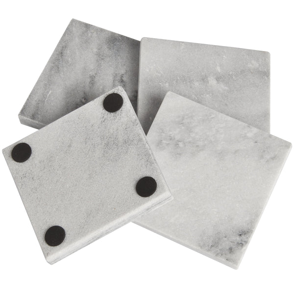 Solid Marble Square Coasters - Stylemypad
