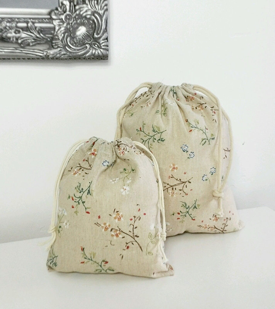 Small Floral Storage Bag - Stylemypad