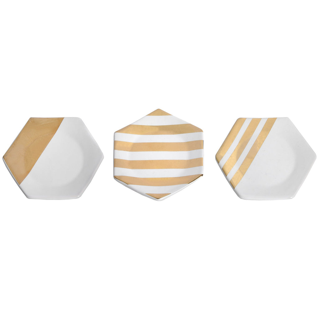 Retro Style White and Copper Coasters - Stylemypad
