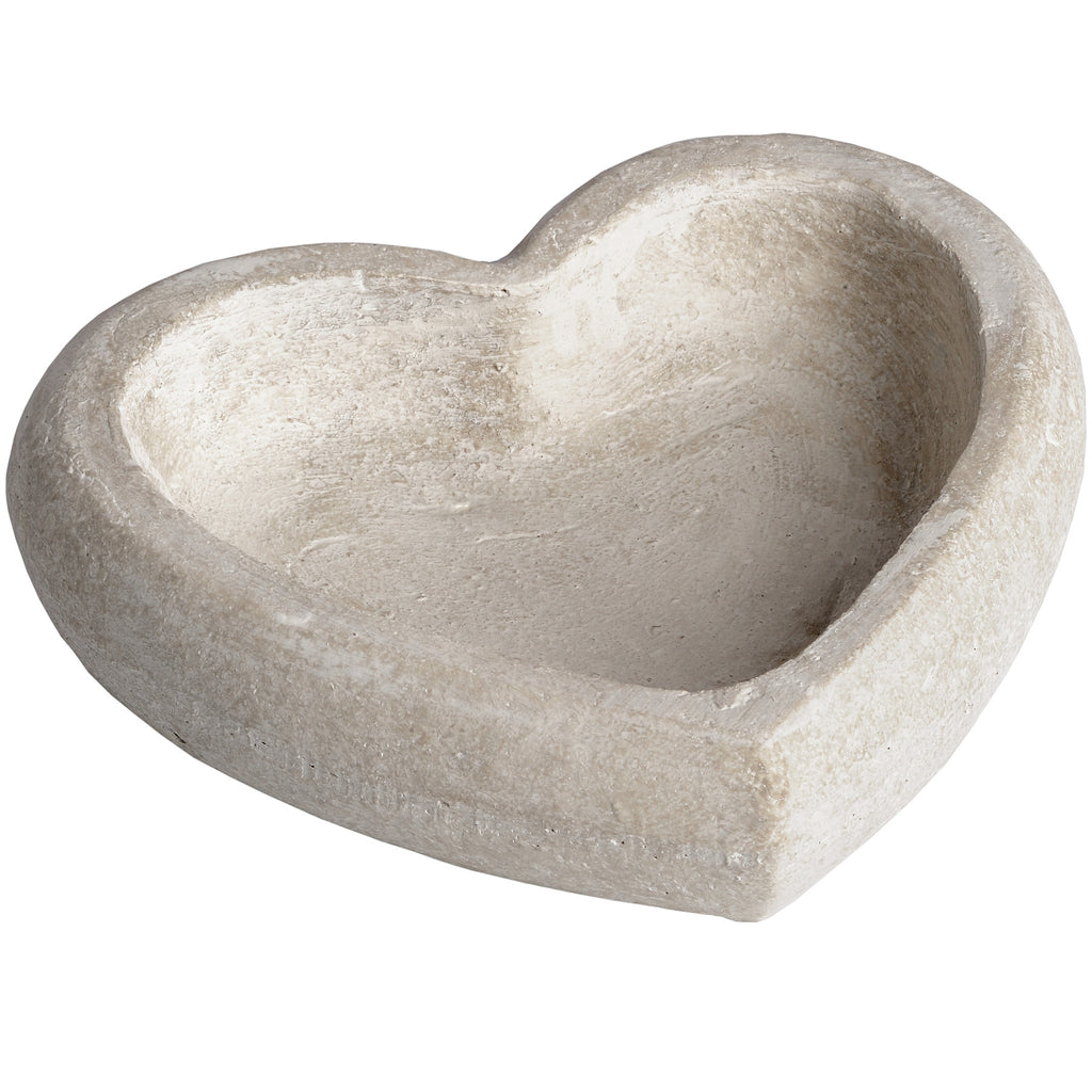 Stone Heart Shaped Dish - Stylemypad