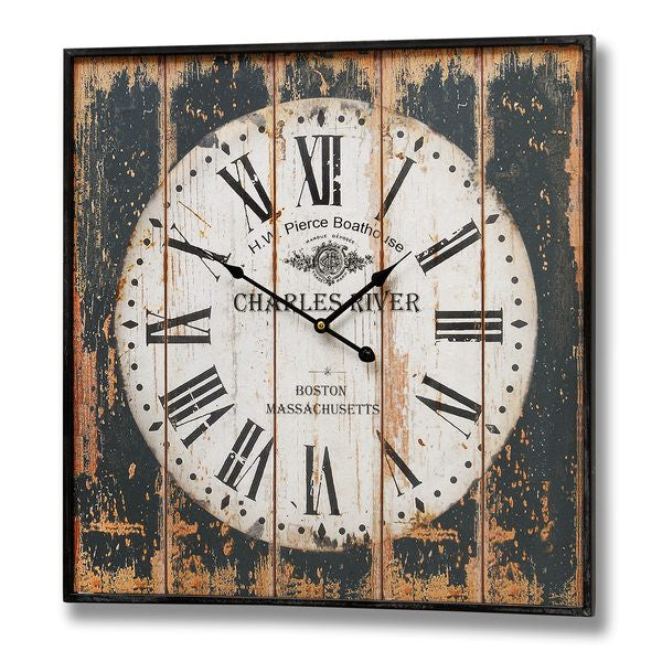 Vintage Style Charles River Wall Clock - Stylemypad