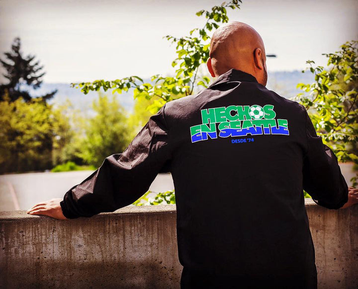 LOS SOUNDERS THROWBACK Coaches Jacket