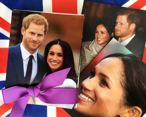 Meghan and Harry Personal Notecards from Mark A. Stewart & What Meghan Wore