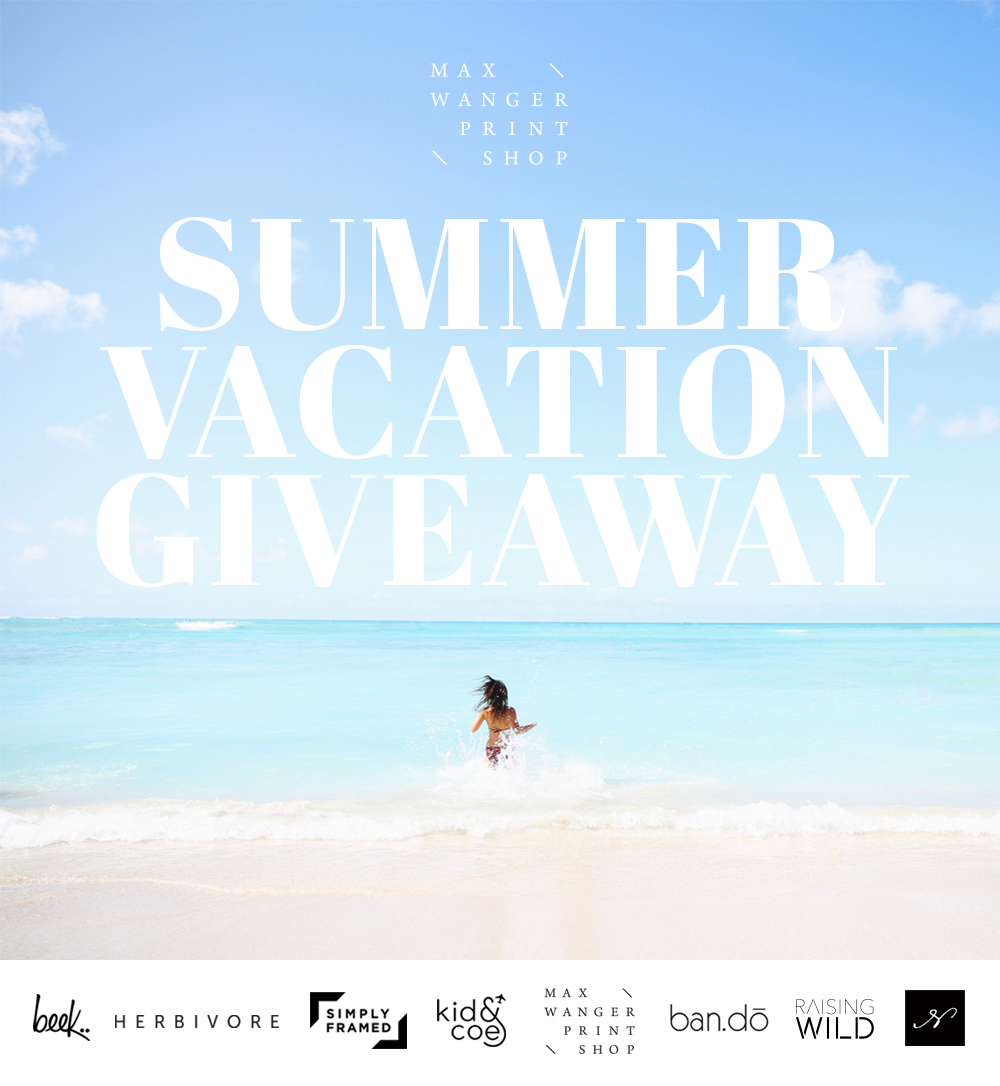 Max Wanger Printshop Summer Vacation Giveaway