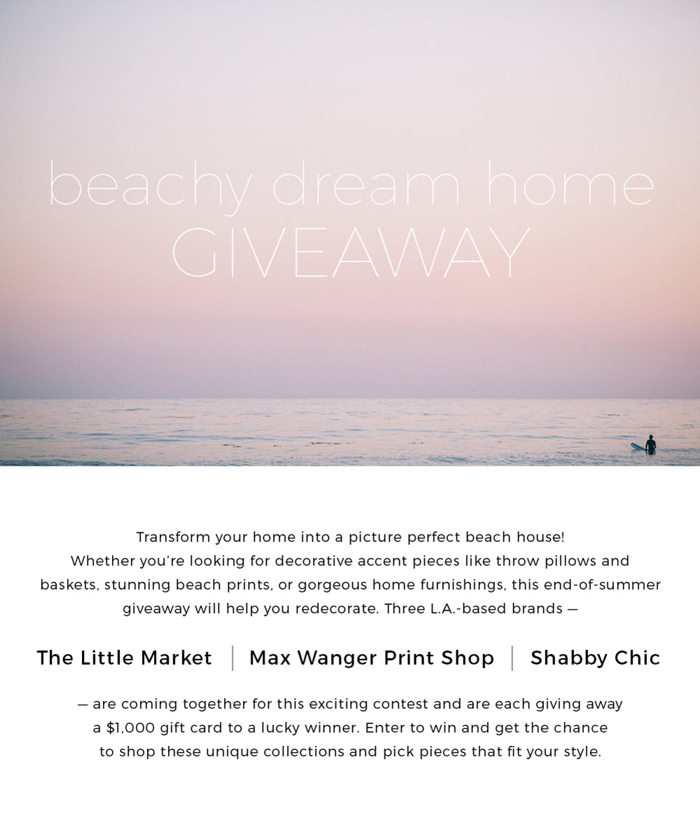 max wanger printshop beachy dream home giveaway