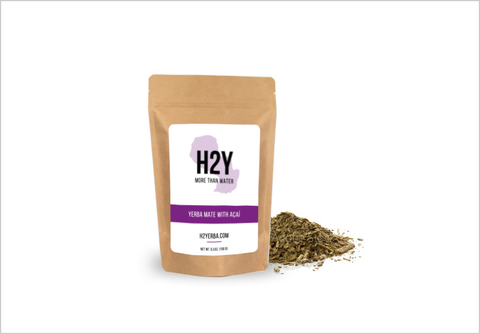 H2Y Traditional Açaí Yerba Mate