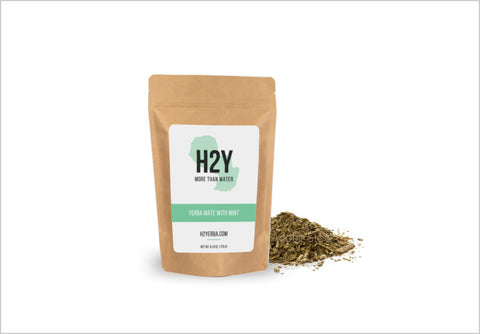 H2Y Traditional Mint Yerba Mate