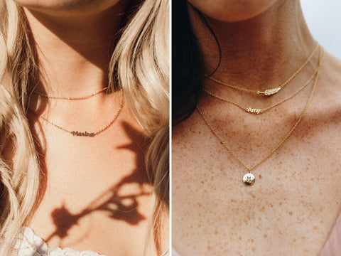 Marina De Buchi freedom necklaces for different skin tones