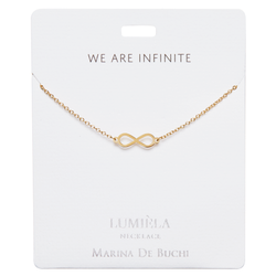 'We Are Infinite' Gold Plated Necklace