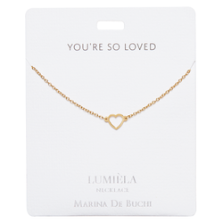'You're So Loved' Gold-Plated Lumiela Necklace