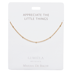 'Little Things' Gold Plated Necklace