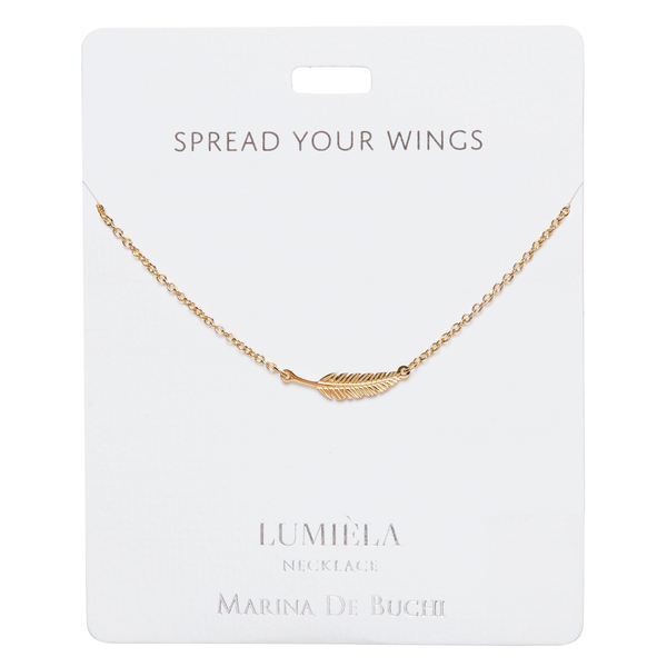 'Spread Your Wings' Feather Necklace