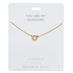 'You Are My Sunshine' Lumiela Necklace