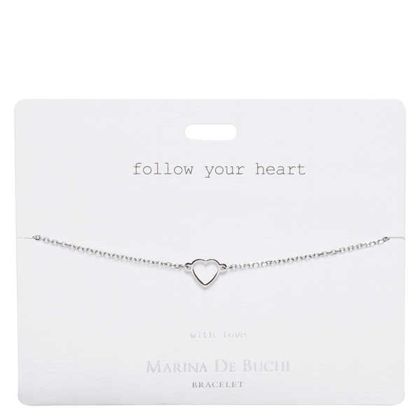 'Follow Your Heart' Luxe Freedom Bracelet