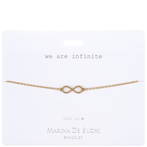 'We Are Infinite' Bracelet | Luxe Collection
