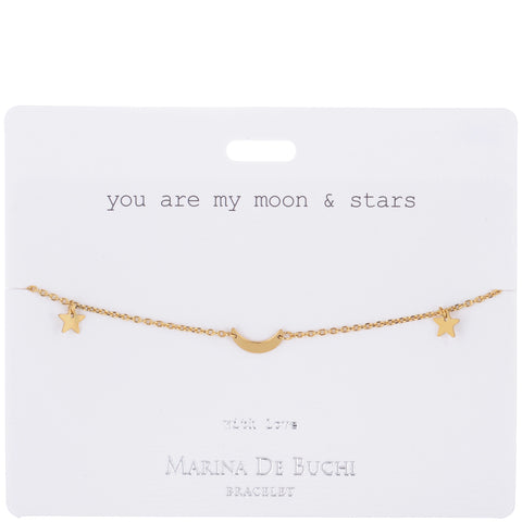 'Moon & Stars' Bracelet | Luxe Collection