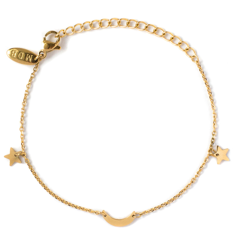 'Moon and Stars' Luxe Freedom Bracelet