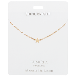 'Shine Bright' Gold Star Necklace