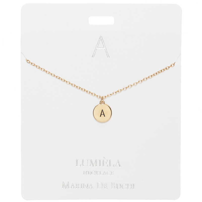 Initial Letter Necklace: Bespoke Jewelry