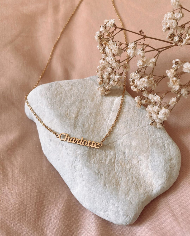 Personalized Luxe Name Necklace