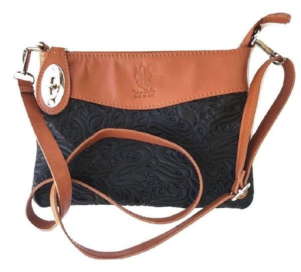 LaGaksta Bello Handmade Italian Soft Leather Crossbody Bag