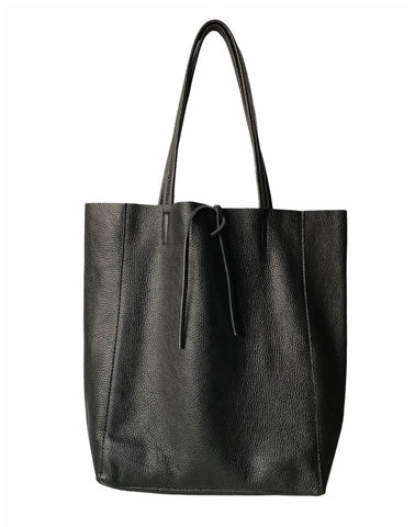 Taylor Tote Shoulder Bag Soft Italian Leather - Casual Travel Everyday Tote