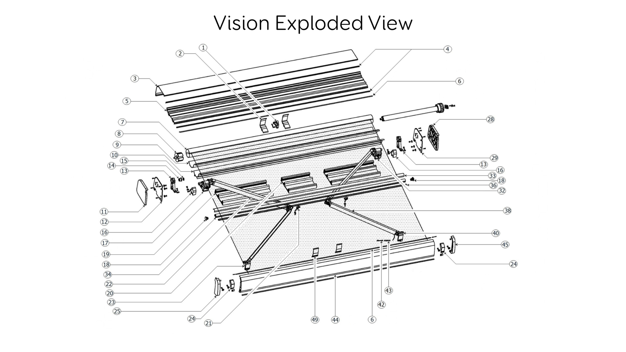 Vision Awning Diagram