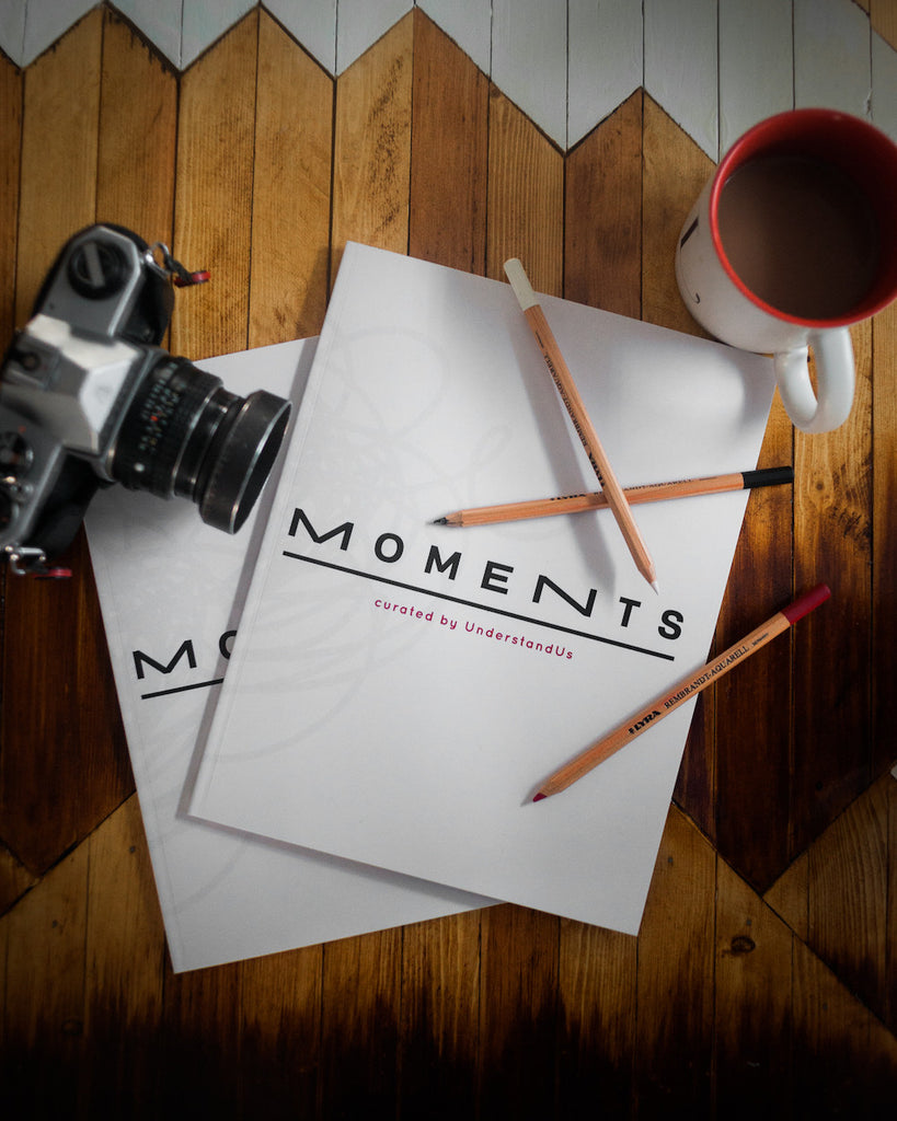 Moments - Art Curated Book