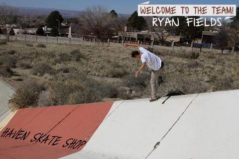 Ryan Fields Welcome to the Team!