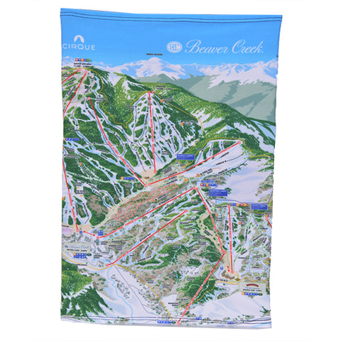 TRAILMAP FACEMASK BEAVER CREEK