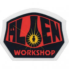 ALIEN WORKSHOP LOGO STICKER