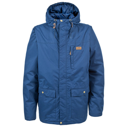 TRESPASS ASTON MENS JACKET NAVY TONE