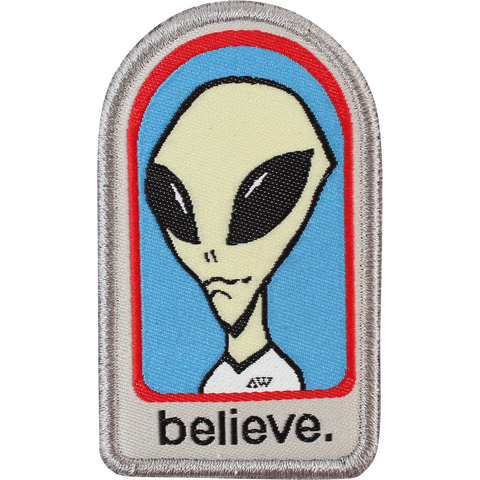 ALIEN WORKSHOP BELIEVE PATCH