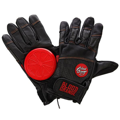 BLOOD ORANGE LEATHER GLOVES