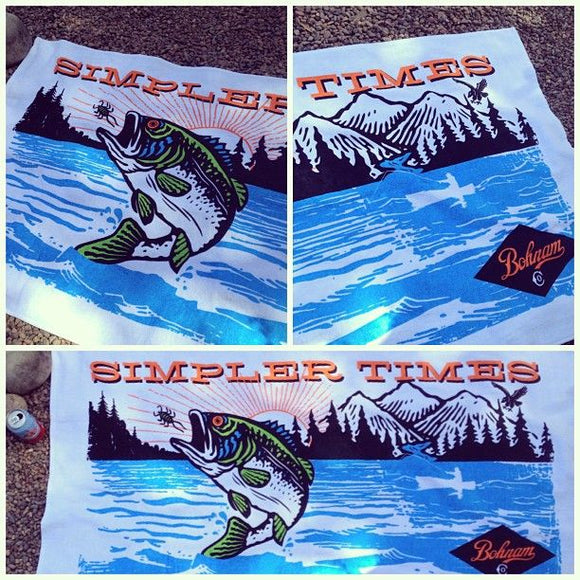 BOHNAM LUNKER LAKE TOWEL