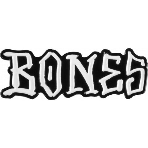 BONES WHEELS LAPEL PIN